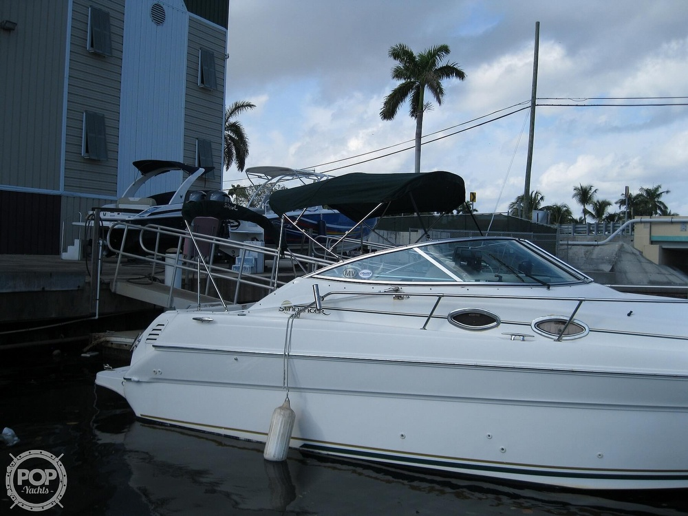 2001 Sea Ray boat for sale, model of the boat is 270 Sundancer & Image # 13 of 40