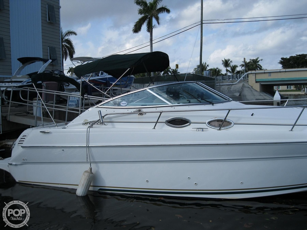 2001 Sea Ray boat for sale, model of the boat is 270 Sundancer & Image # 14 of 40