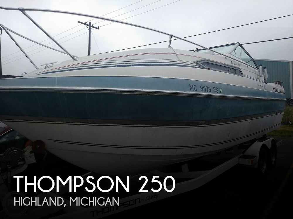 Used Thompson Boats For Sale by owner | 1991 Thompson 250 Daytona