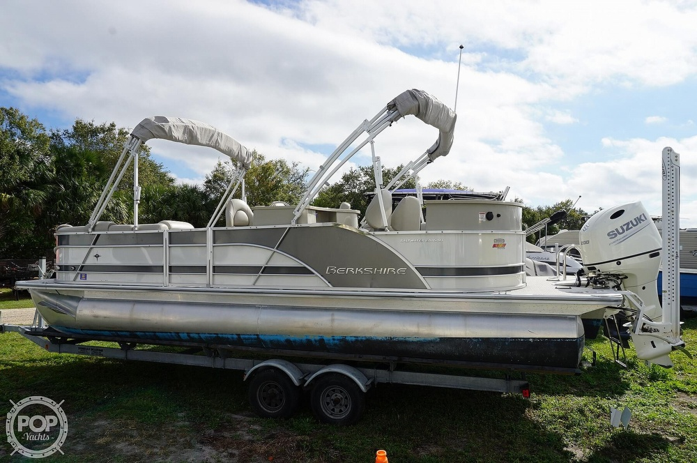 2019 Berkshire Pontoons boat for sale, model of the boat is 25E STS & Image # 2 of 40