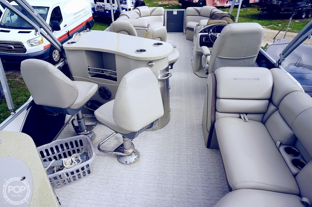 2019 Berkshire Pontoons boat for sale, model of the boat is 25E STS & Image # 12 of 40