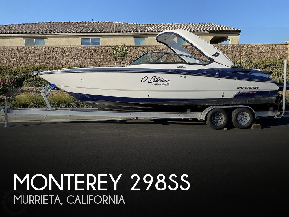 Used Boats For Sale in San Diego, California by owner | 2018 Monterey 298SS
