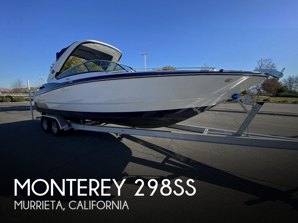 2018 Monterey boat for sale, model of the boat is 298SS & Image # 1 of 40