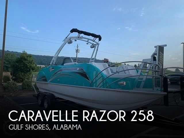 Used Pontoon Boats For Sale by owner | 2020 Caravelle Razor 258