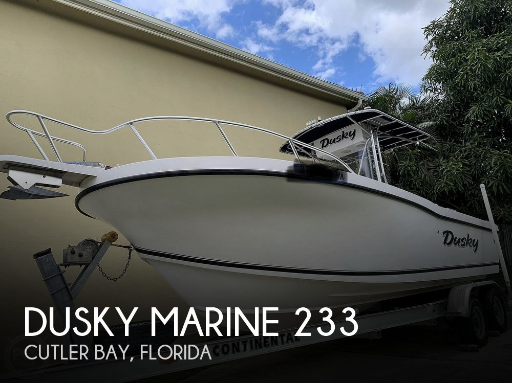 2005 Dusky Marine boat for sale, model of the boat is 233 FAC & Image # 1 of 40