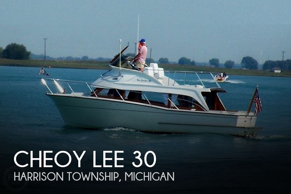 Used Cheoy Lee Boats For Sale in Michigan by owner | 1969 Cheoy Lee 30 Spoiler