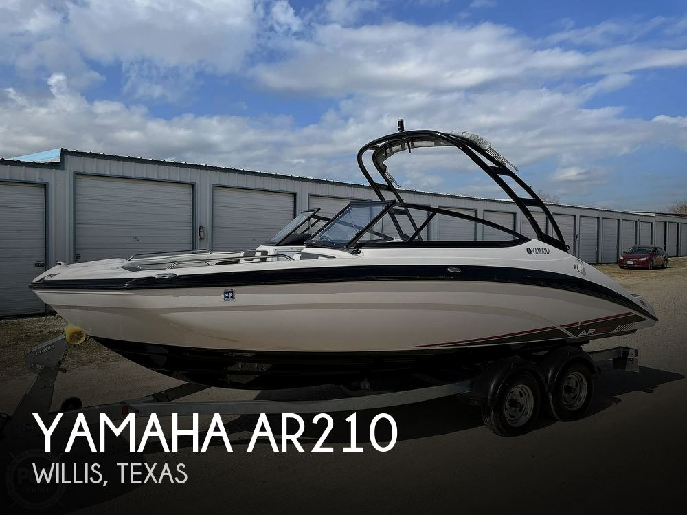 2017 Yamaha boat for sale, model of the boat is AR210 & Image # 1 of 40