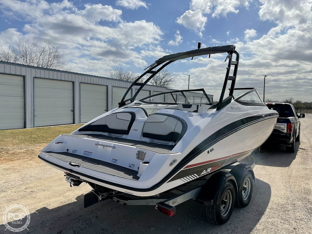 2017 Yamaha boat for sale, model of the boat is AR210 & Image # 15 of 40
