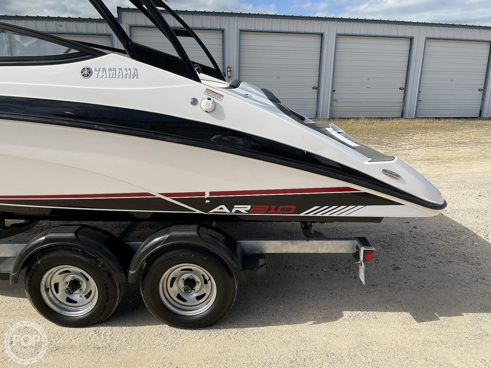 2017 Yamaha boat for sale, model of the boat is AR210 & Image # 33 of 40