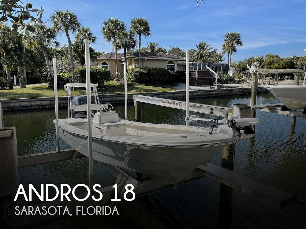 2019 Andros boat for sale, model of the boat is Backwater 18 Skiff & Image # 1 of 40