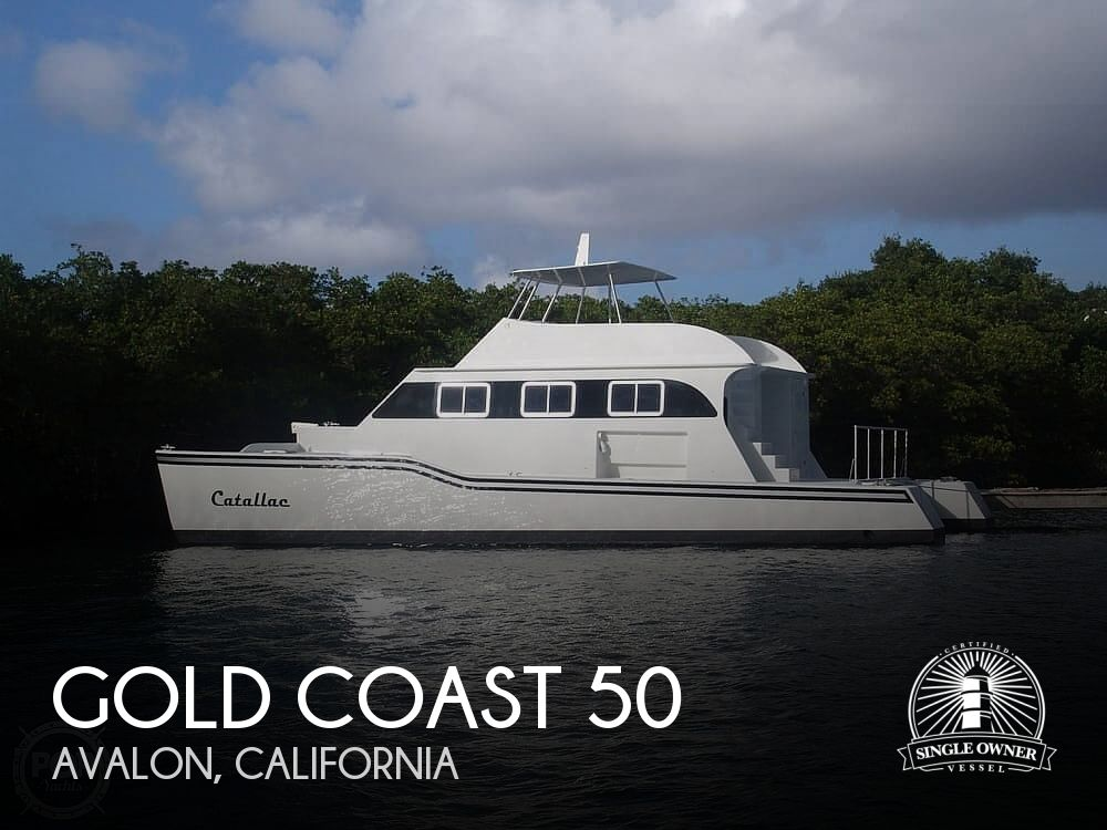 2012 Gold Coast boat for sale, model of the boat is 50 Catamaran & Image # 1 of 17