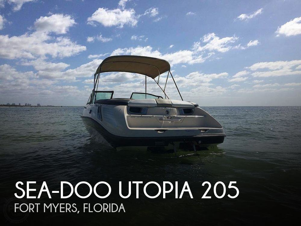 2007 Sea Doo PWC boat for sale, model of the boat is Utopia 205 & Image # 1 of 40