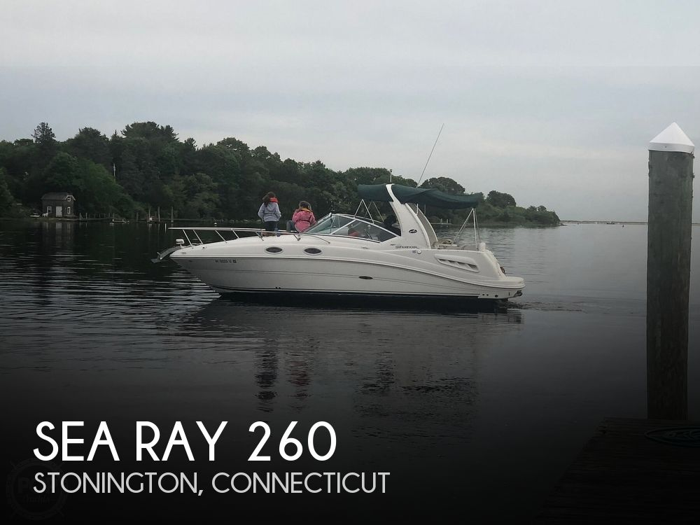 2005 Sea Ray boat for sale, model of the boat is 260 Sundancer & Image # 1 of 40
