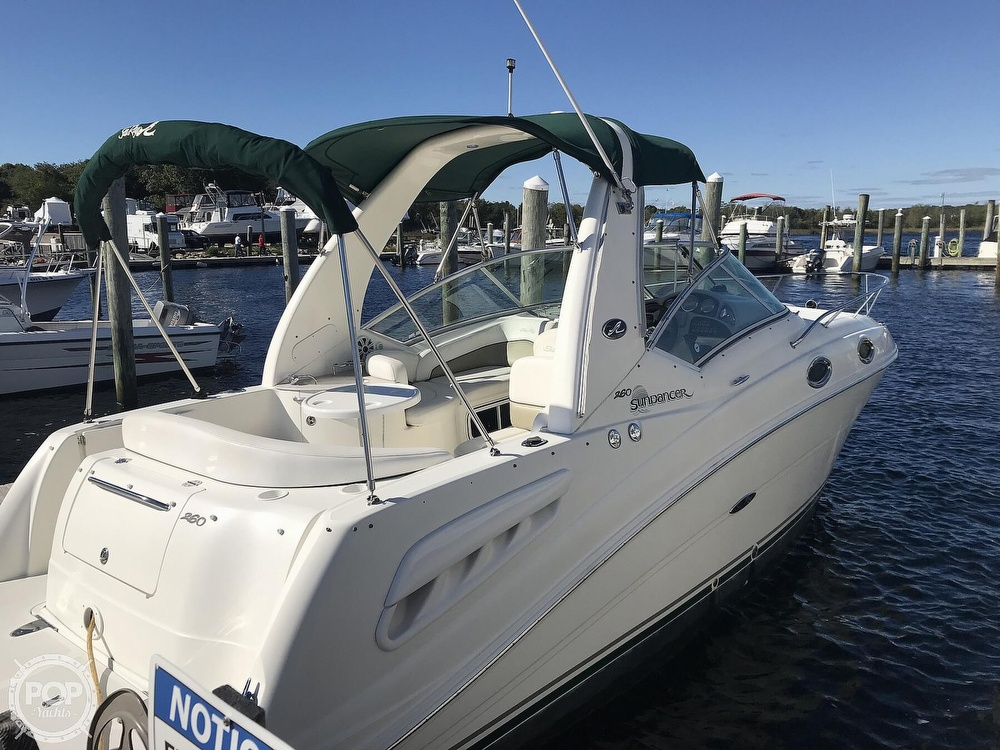 2005 Sea Ray boat for sale, model of the boat is 260 Sundancer & Image # 2 of 40