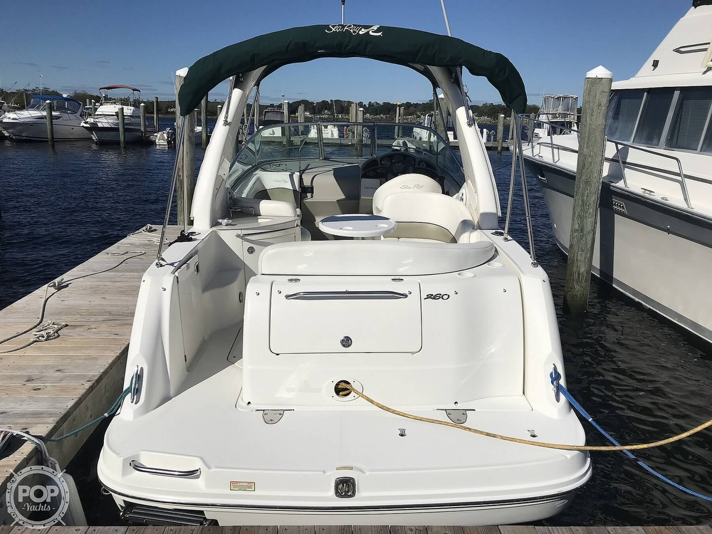 2005 Sea Ray boat for sale, model of the boat is 260 Sundancer & Image # 7 of 40