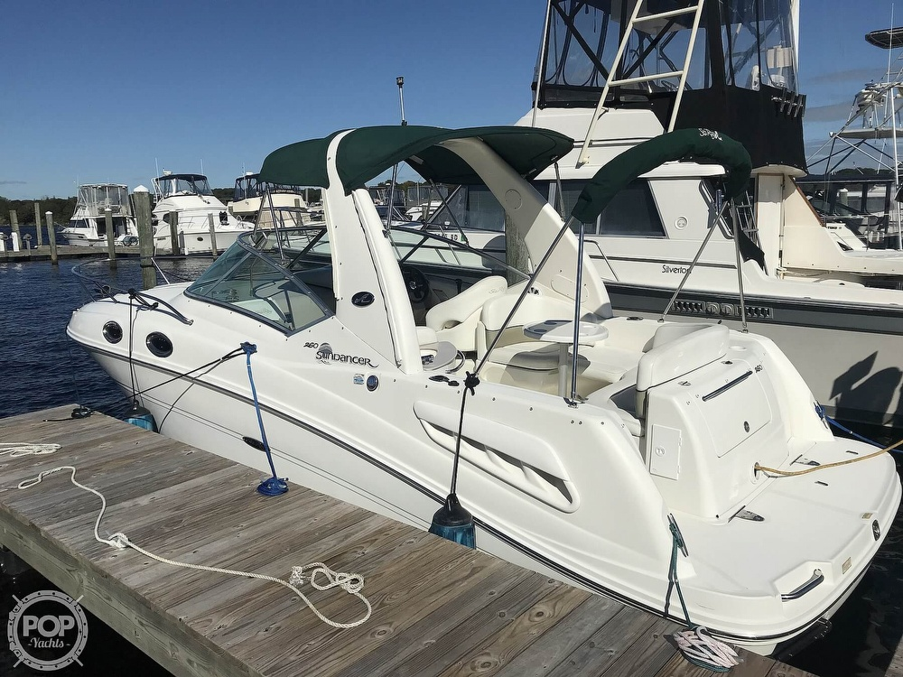 2005 Sea Ray boat for sale, model of the boat is 260 Sundancer & Image # 3 of 40