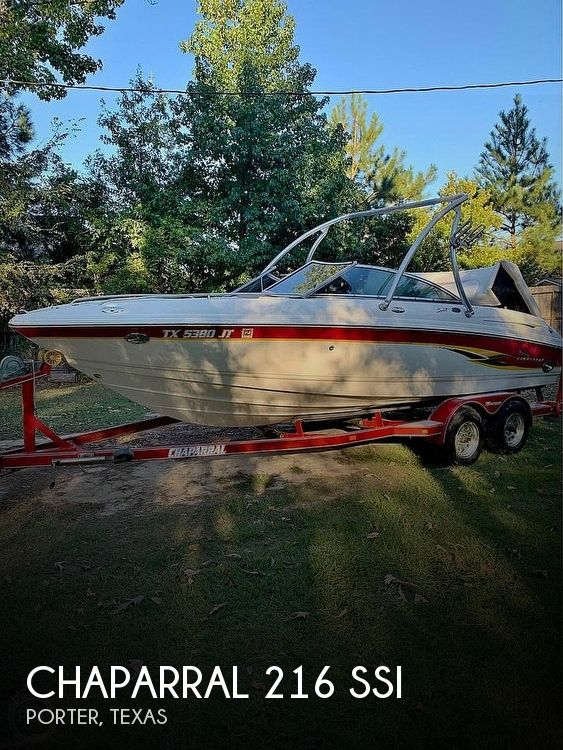 Used Chaparral Boats For Sale in Texas by owner | 2002 Chaparral 216 Ssi