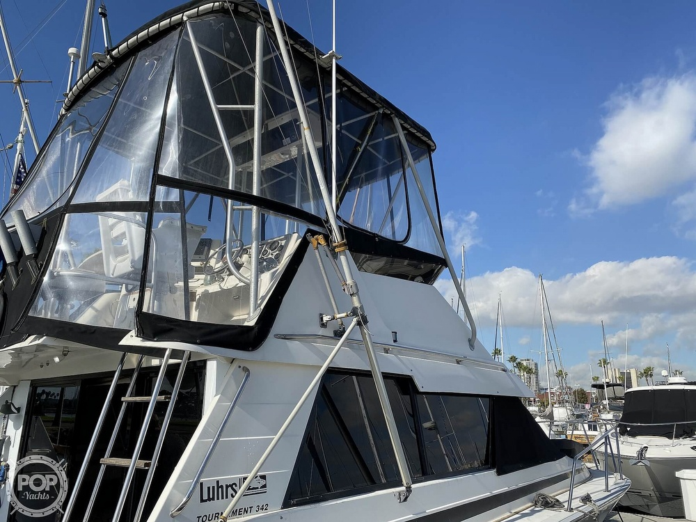 1989 Luhrs boat for sale, model of the boat is Tournament 342 & Image # 25 of 40