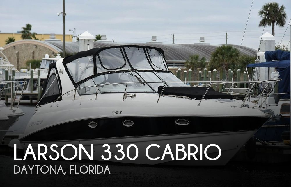 2008 Larson boat for sale, model of the boat is 330 Cabrio & Image # 1 of 40