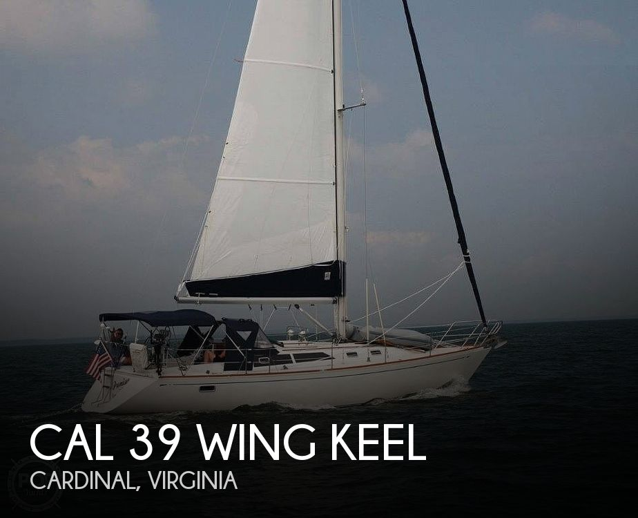 1988 CAL boat for sale, model of the boat is 39 Wing Keel & Image # 1 of 40