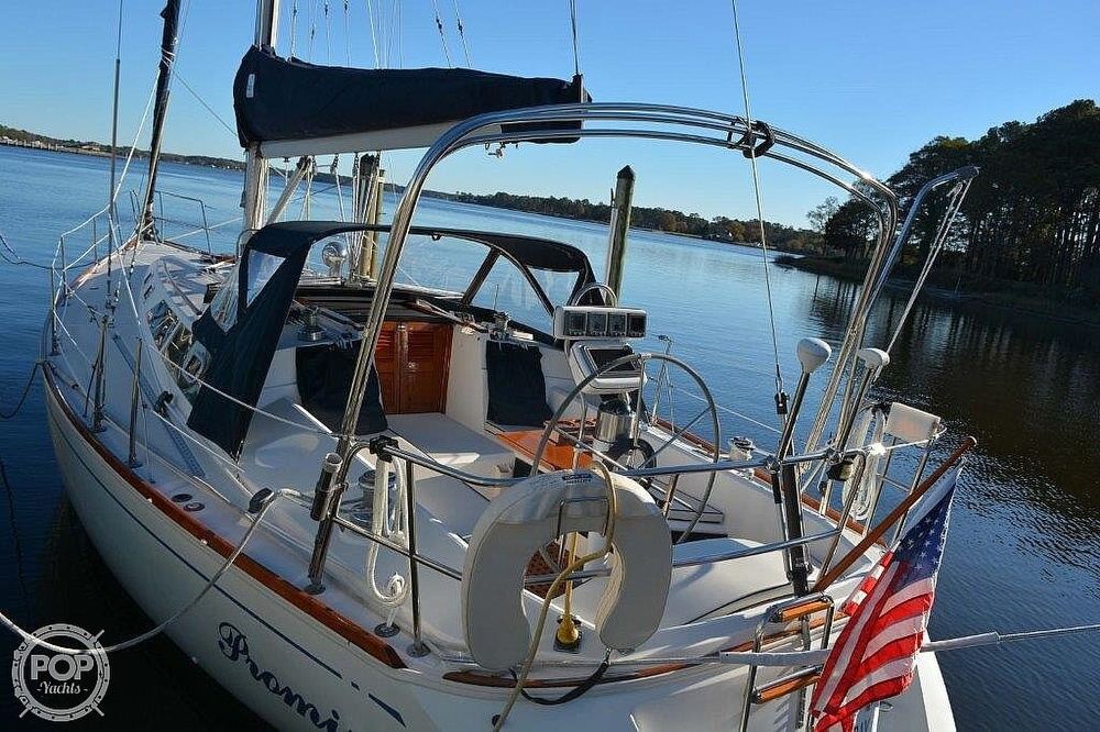 1988 CAL boat for sale, model of the boat is 39 Wing Keel & Image # 2 of 40