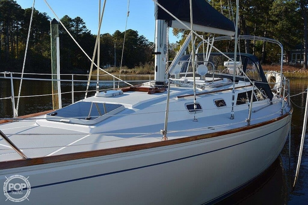 1988 CAL boat for sale, model of the boat is 39 Wing Keel & Image # 3 of 40