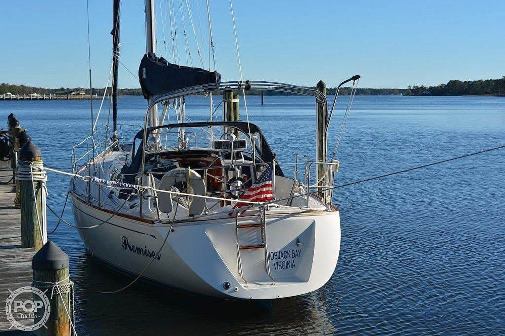 1988 CAL boat for sale, model of the boat is 39 Wing Keel & Image # 4 of 40