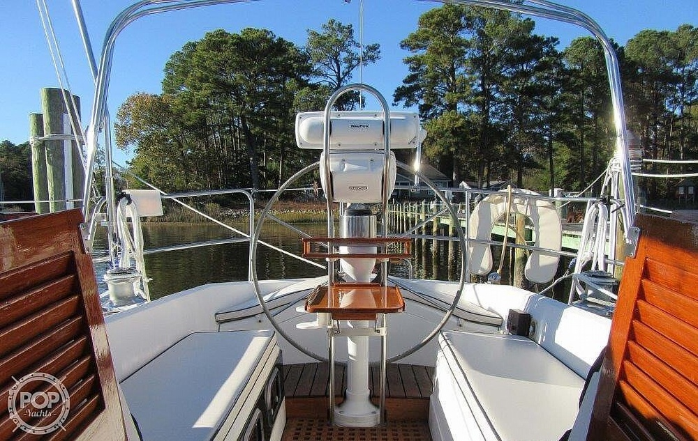 1988 CAL boat for sale, model of the boat is 39 Wing Keel & Image # 8 of 40