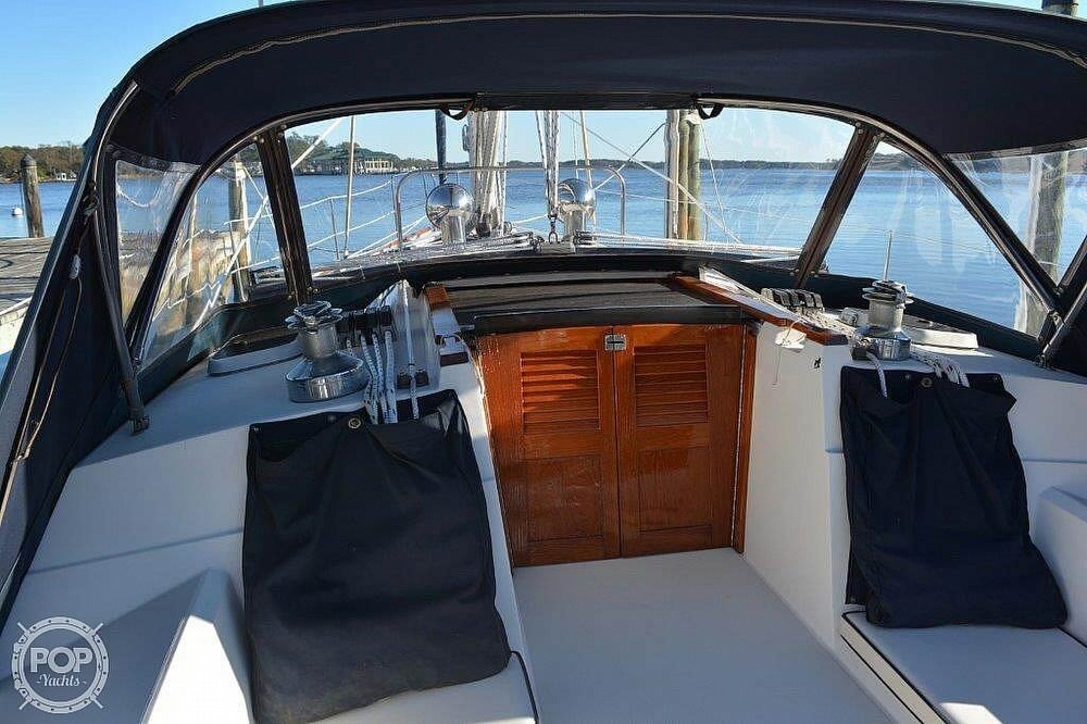 1988 CAL boat for sale, model of the boat is 39 Wing Keel & Image # 13 of 40