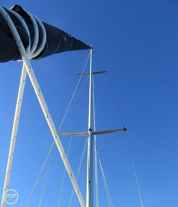 1988 CAL boat for sale, model of the boat is 39 Wing Keel & Image # 18 of 40