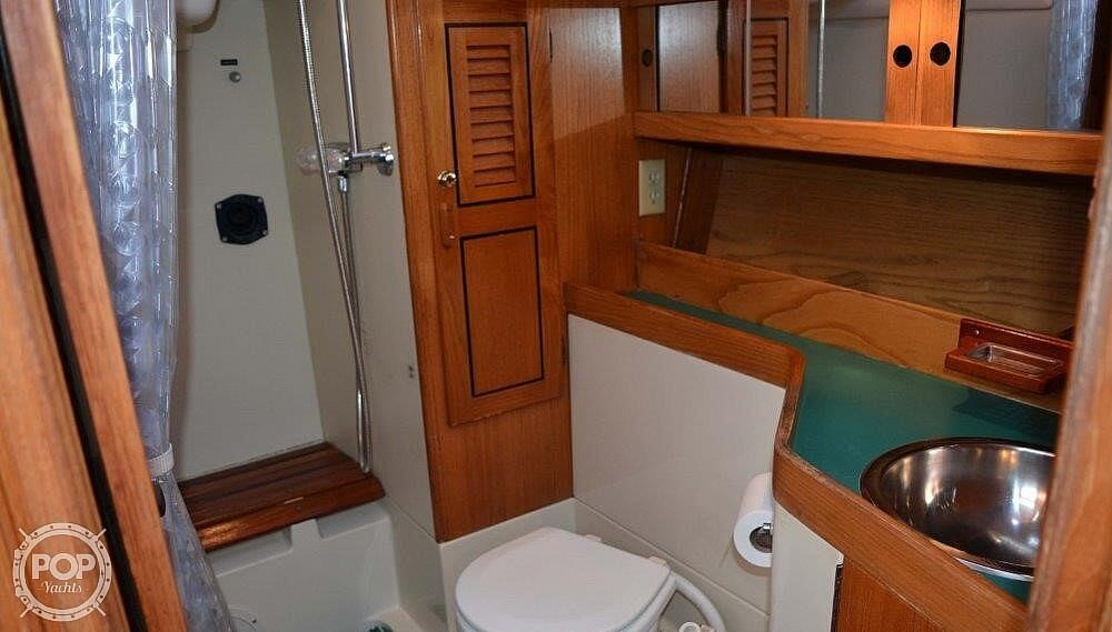 1988 CAL boat for sale, model of the boat is 39 Wing Keel & Image # 24 of 40