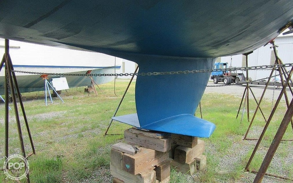 1988 CAL boat for sale, model of the boat is 39 Wing Keel & Image # 32 of 40