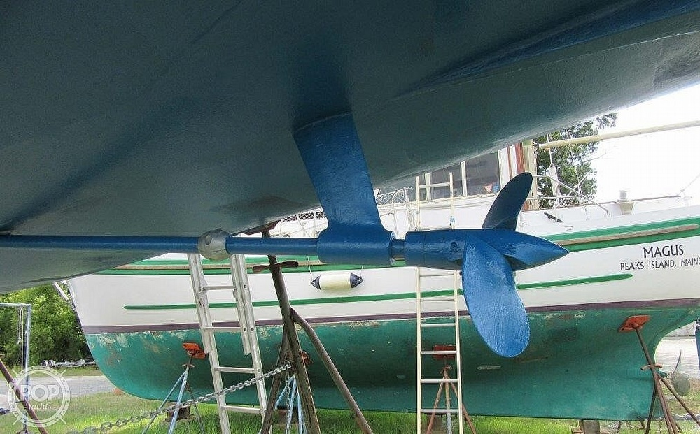 1988 CAL boat for sale, model of the boat is 39 Wing Keel & Image # 34 of 40