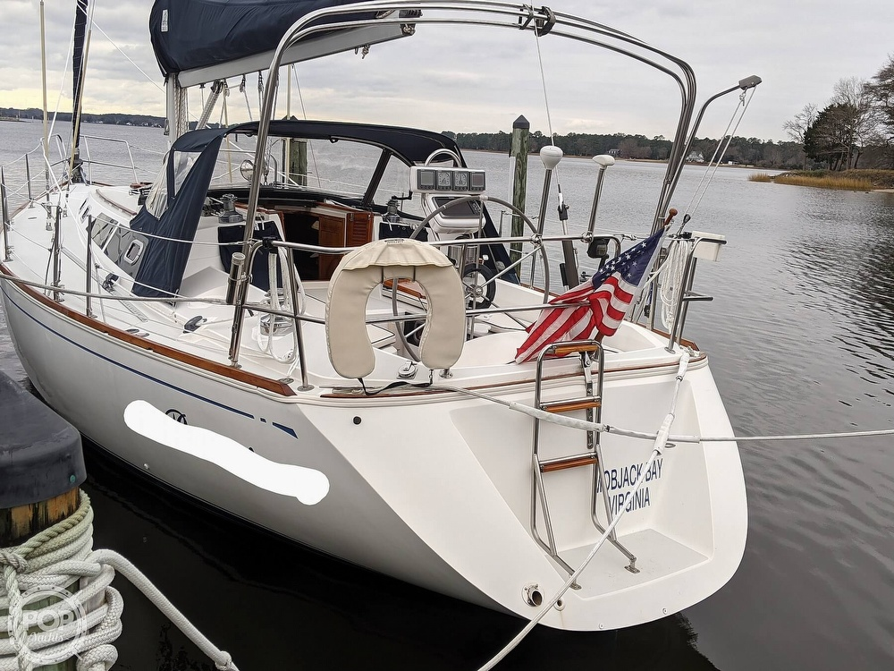 1988 CAL boat for sale, model of the boat is 39 Wing Keel & Image # 39 of 40