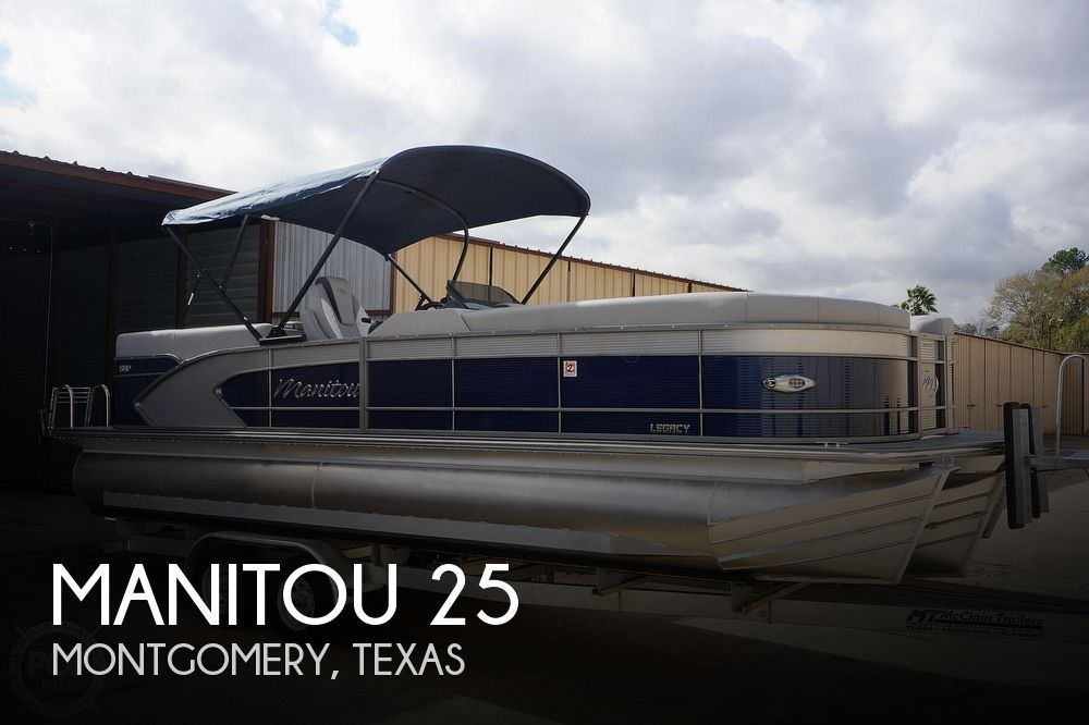 2020 Manitou boat for sale, model of the boat is 25 Legacy RF SHP & Image # 1 of 40