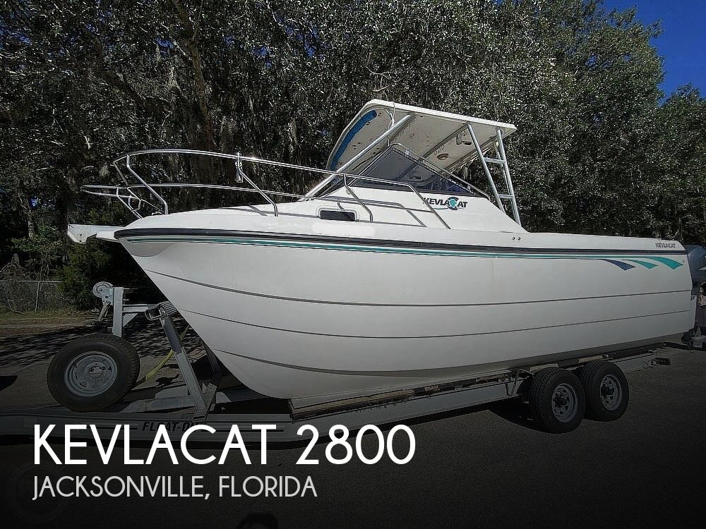 2001 Kevlacat boat for sale, model of the boat is 2800 & Image # 1 of 40