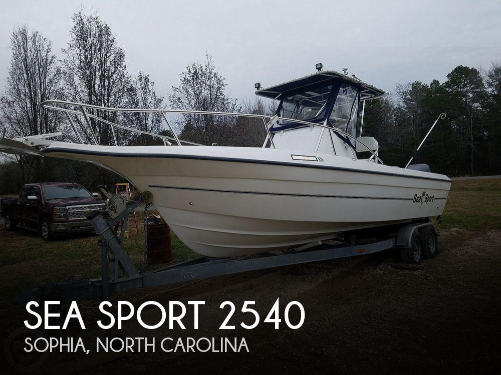 2001 Sea Sport 2540