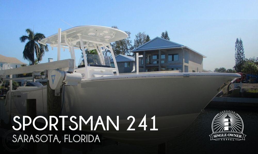 2019 SPORTSMAN BOATS 241 HERITAGE for sale
