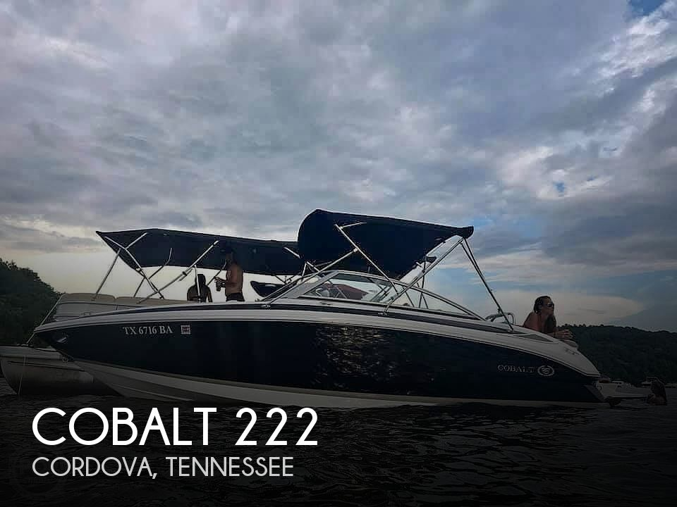 Used Boats For Sale in Memphis, Tennessee by owner | 2010 Cobalt 222
