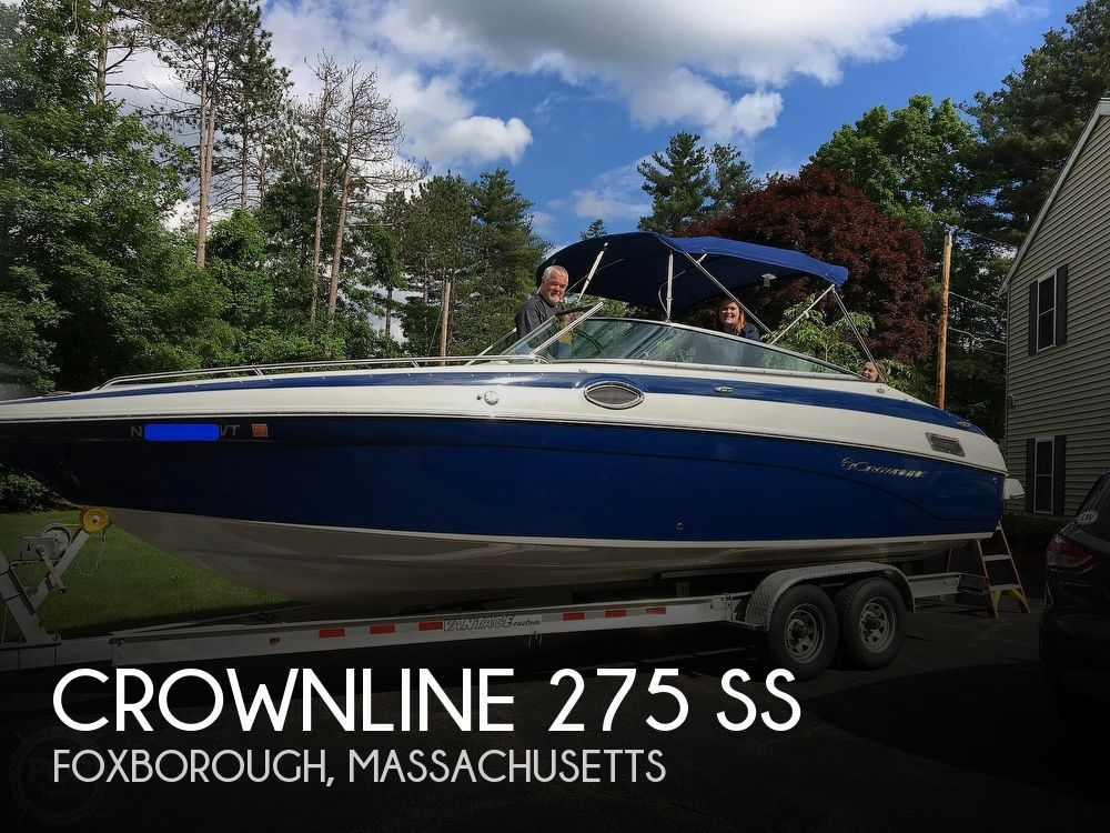 2016 Crownline boat for sale, model of the boat is 275 SS & Image # 1 of 14