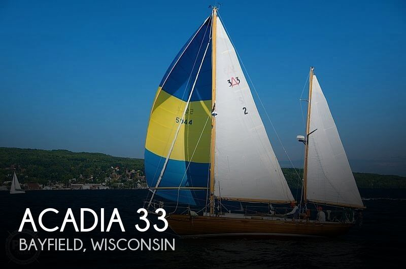 Used Boats For Sale in Duluth, Minnesota by owner | 1968 Acadia 33