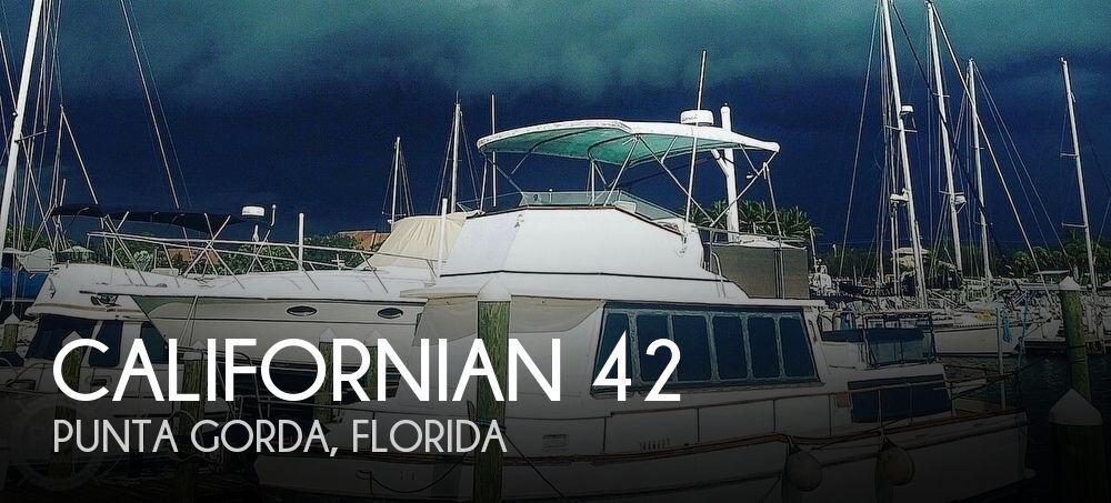 Used Californian Boats For Sale by owner | 1976 Californian 42