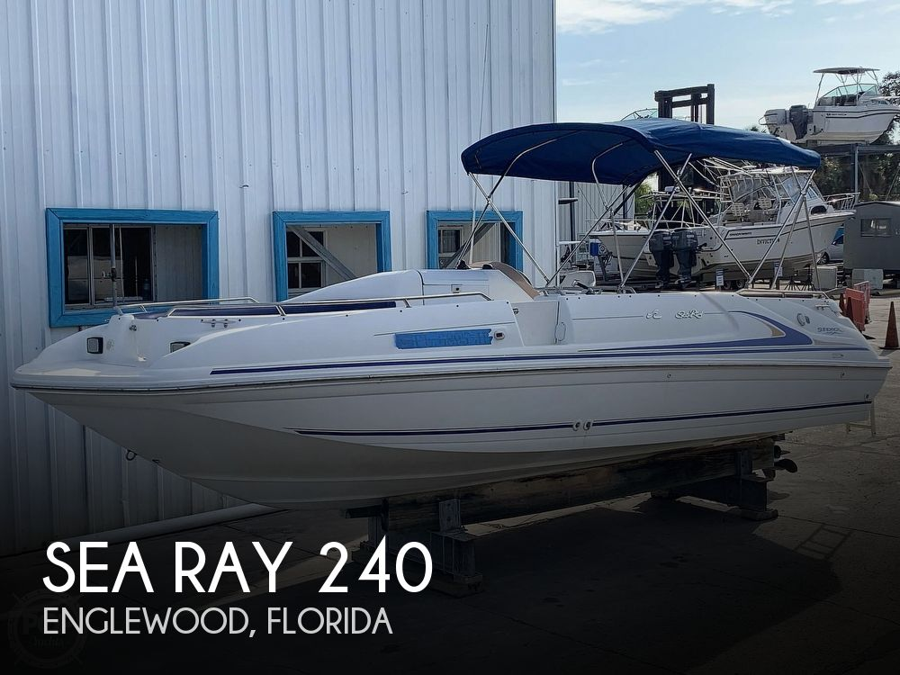 1996 Sea Ray boat for sale, model of the boat is 240 Sun Deck & Image # 1 of 40