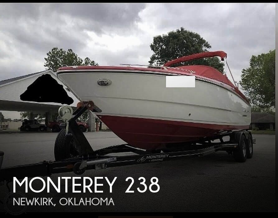 2015 Monterey boat for sale, model of the boat is 238 & Image # 1 of 15