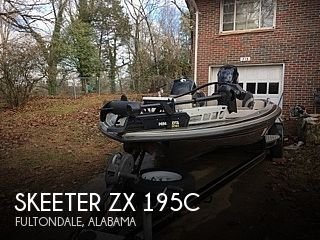 2000 Skeeter boat for sale, model of the boat is ZX 195C & Image # 1 of 11