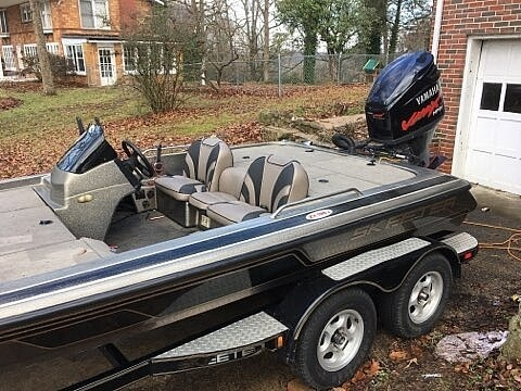 2000 Skeeter boat for sale, model of the boat is ZX 195C & Image # 7 of 11