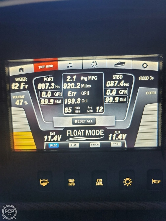 2018 Yamaha boat for sale, model of the boat is AR240 & Image # 11 of 12