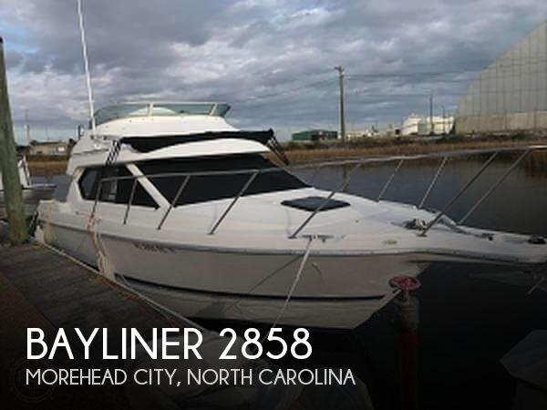 Used Bayliner Boats For Sale in North Carolina by owner | 1998 Bayliner 2858