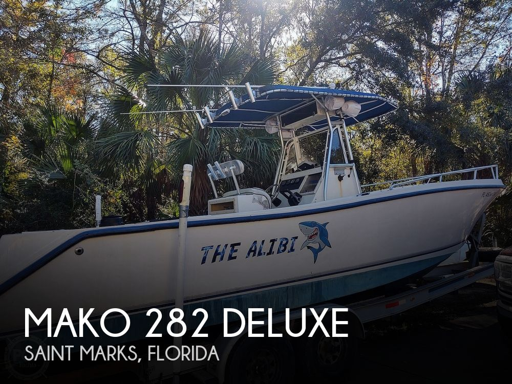 Used Boats For Sale in Tallahassee, Florida by owner | 1995 Mako 282