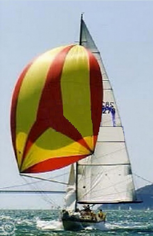 Spinnaker On The Bay